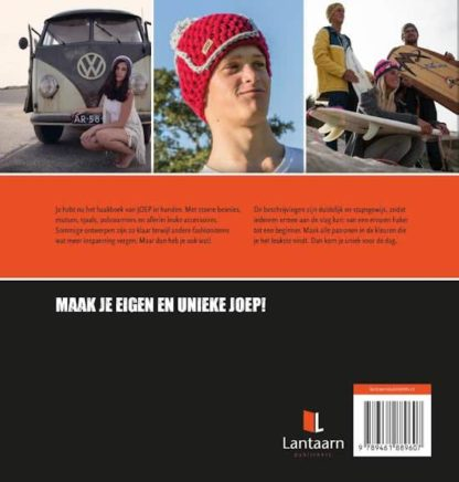 Haken met JOEP boek | joep-shop.nl