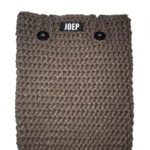 Tablet Hoes Taupe buttons | joep-shop.nl